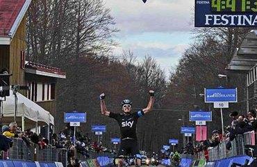 Froome quedó a solo cuatro segundos del liderato
