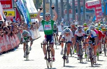 André Greipel fue el más rápido este miércoles en el Tour de Turquía