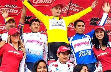 El GW-Shimano sigue firme en su camino a la barrida absoluta en la Vuelta a Guatemala