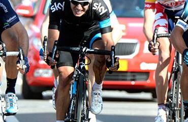 Henao en el remate de la Amstel Gold Race