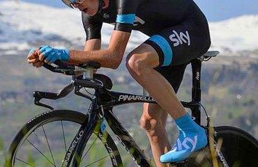 Chris Froome es el primer líder en Suiza