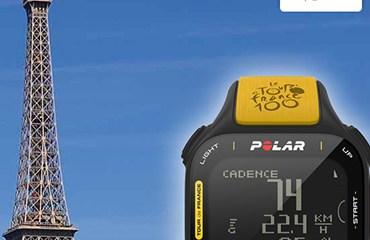 Polar te lleva al final del Tour de Francia 2013 en la ciudad luz