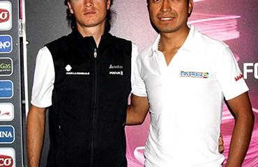 Betancur y Atapuma van por la camiseta blanca de mejor joven del Giro