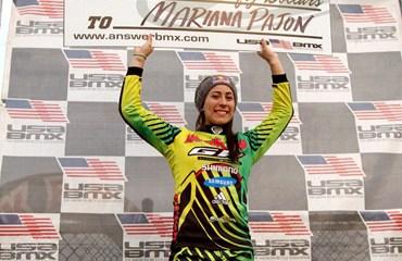 Mariana Pajón sigue su accionar de carreras en territorio norteamericano