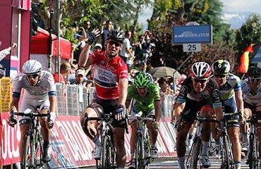Cavendish completó su cuarta victoria en este Giro de Italia