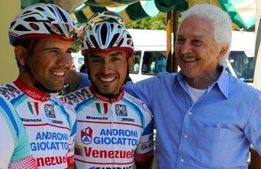 Rubiano, Savio y el Androni en el Giro 2013