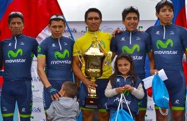 El Movistar Team América estuvo brillante en Tulcán