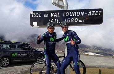 Quintana se sigue poniendo a punto para el Tour y no correrá nada antes de ese máximo compromiso
