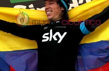 El último triunfo colombiano en el Giro llegó este martes de parte de Rigoberto Urán