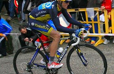Contador empezó en el Dauphiné Libéré la recta final hacia el próximo Tour