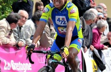 Edson Calderón quiere figurar en la Vuelta 2013