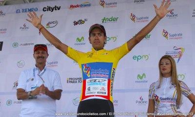 Millán es el actual líder de la edición 63 de la Vuelta a Colombia