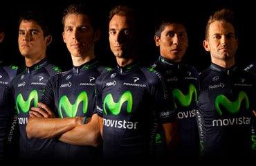 Este es el Movistar Team para el Tour 2013