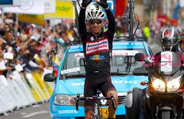 Infantino por fin puede celebrar en una Vuelta a Colombia