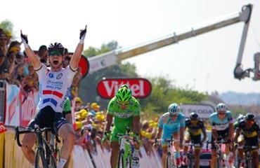 El británico Cavendish llegó a su segundo triunfo de etapa