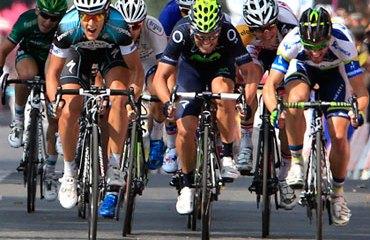 Trentin consiguió este sábado el máximo triunfo de su carrera deportiva en el Tour