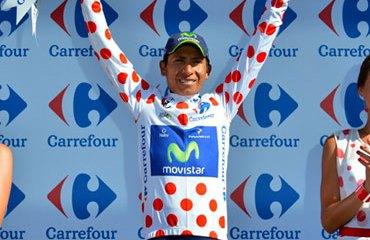 Quintana se ratificó este sábado como el mejor escalador del Tour