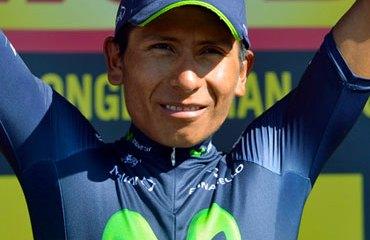 Quintana se impuso de nuevo en un importante Critérium