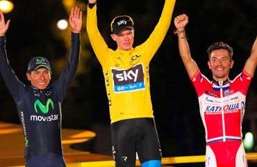 'Purito' y su podio en Francia