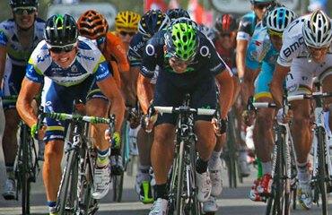 El australiano consiguió la primera victoria de su equipo en un Tour