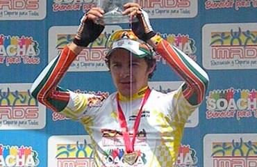 Juan David Vargas ganó de forma brillante la Clásica de Soacha