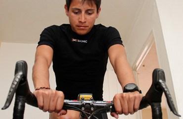 Chaves ya se encuentra de nuevo montando en bicicleta