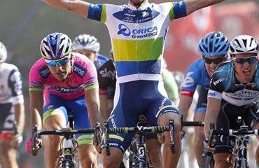 El joven de Canberra (Australia) se estrenó con un triunfo de etapa en una 'grande'