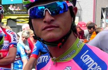 Anacona con el Lampre-Mérida en competencia