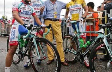 Savio y Rujano en el Tour de Langkawi de 2012