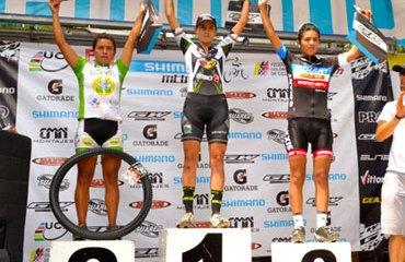Laura Abril fue la más rápida en la categoría élite mujeres