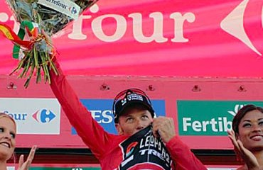 Horner se va a convertir este domingo en el corredor más veterano en ganar la Vuelta