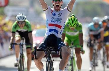 Cavendish sumó su tercera etapa en la edición 2013 del Tour