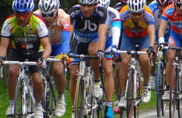 Lote en plena acción de la Vuelta
