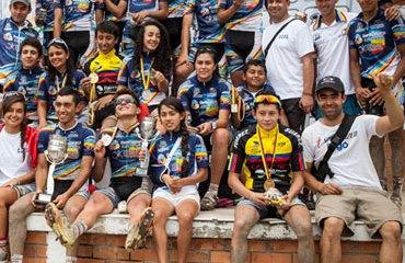 Fundación Mezuena en el Campeonato Nacional de Ciclomontañismo