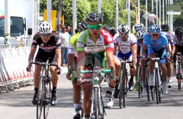 Castañeda ratificó su poderío al sprint en Santander
