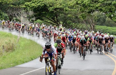 Pelotón ciclístico nacional