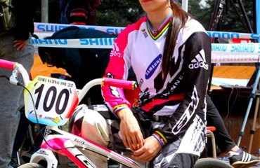 'La Tata' es figura del bicicross a nivel mundial