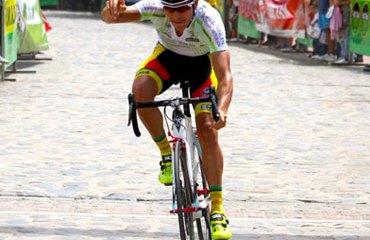 Pedro Herrera ya completó dos triunfos de etapa en la carrera
