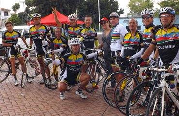 Colombia es la actual campeona del Campeonato Panamericano de Ciclismo Sénior Máster