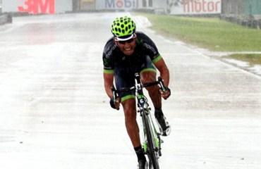 Brayan Ramirez triunfante en el Circuito de Tocancipá
