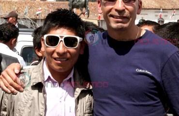 Nairo Quintana estrella del Movistar Team junto al gran Mauricio Soler