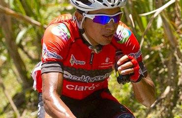 Salvador Moreno en el top 3 de Bolivia