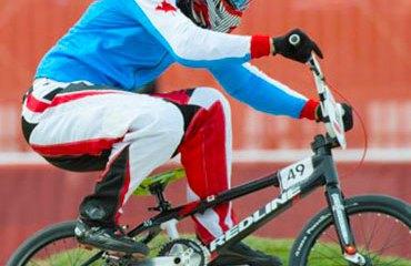 El piloto canadiense Tory Nyhaug estará en Medellín