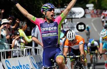 Esta es la primera victoria de la temporada para el italiano Ulissi