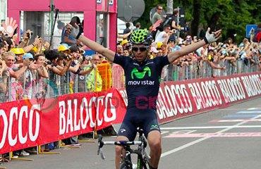 Visconti fue figura en el pasado Giro de Italia
