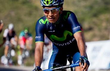 Nairo Quintana asumió el primer puesto de la ronda puntana