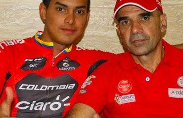 Argiro Ospina junto a su nuevo técnico, Carlos Mario Jaramillo