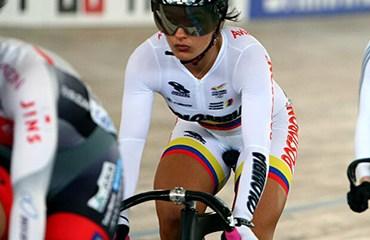 Juliana Gaviria no clasificó a las finales en la prueba del Keirin