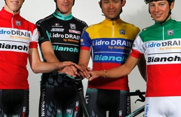 Leonardo Páez metido de lleno en su equipo Bianchi 2014
