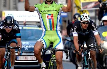 Tercera victoria de la temporada para Sagan a dos días de la Gante Wevelgem